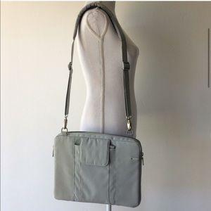 """INCASE Shoulder bag 13"""" lap top gray green"""